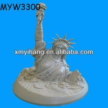 de los animales de resina estatua de la libertad