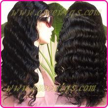 100% human hair 180 density full lace wig