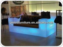 modern home/bar furniture led sofa