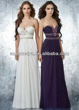 OUMEIYA OEP379 Chiffon 2013 Princess Prom Dress Purple