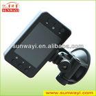 wide angle night vision Full HD 720P dual lens car camera recorder for driving,car dvr,car black box