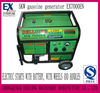 2012 5KW portable battery operated gasoline generator EX7000EN