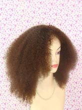 AAAA grade tangle free silk top human hair half wigs