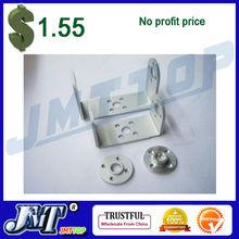 F03711 1 set Robot servo spare parts: Metal U holder + round servo mount Bracket