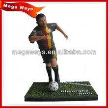 high quality resin sport figure for souvenir