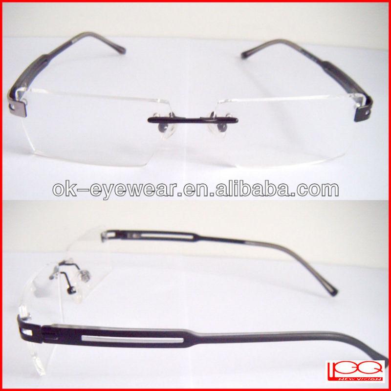 Special Short Nail Tips Rimless Eyeglass Frames, View High ...