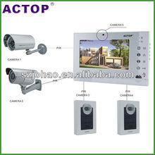 CCTV video intercom door phone with SD Card