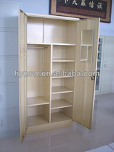 modern design top quality double door wardrobe/cupboard/cabinet for home office school