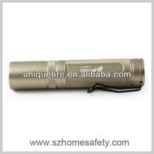 Manufacturer of Shenzhen UniqueFire Cheap Mini Osram 3 Watt LED Flashlights & Torches(1*AA/1*14500)
