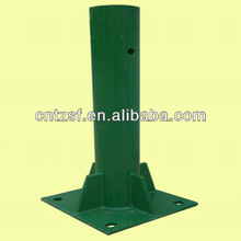 steel post polyester powder coating