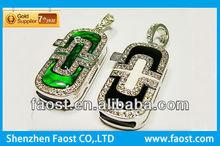 2012 Christmas bulk sale promotion luxury jewelry diamond gift 1gb usb flash drive wholesale