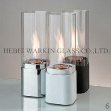 fireplace/stove borosilicate glass tube