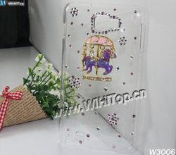Magic Roundabout Design Luxury Diamond Case for Samsung Galaxy Note II 2 N7100