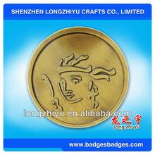 2012 Dragon coin,fashion design metal souvenir coins