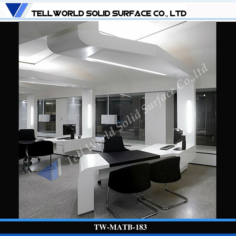 modern style commercial office furniture withe black special design
