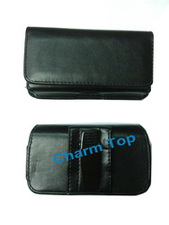 Leather Belt Clip Holster Pouch Case for iPhone 5