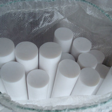 PTFE round bar Recycled PTFE rod round seal sample