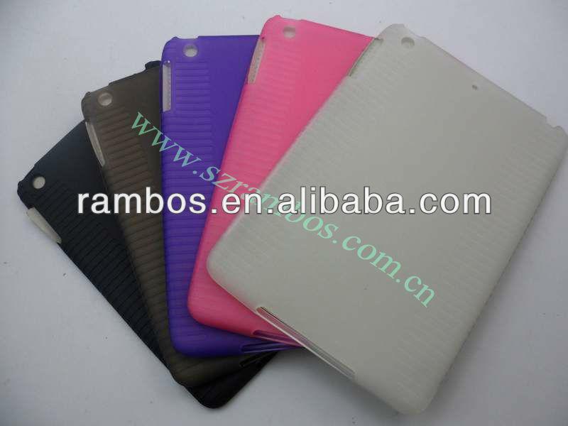 Antigleiter intelligentes tpu schützender rückseitiger Fall für das iPad Mini