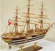 thuyền buồm bằng gỗ mô hình