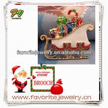 Wholesale handmade brooch new christmas colors 2012