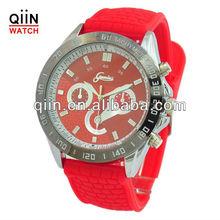 QD0142 geneva silicone strap original ion sport watch