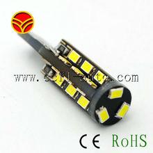 Car dashboard light 27pcs canbus smd3020 T10 car LED bulb