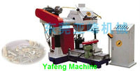 Double Shafts Automatic steel pipe / tube grinding machine to polish steel surface to be clear/mirror finish