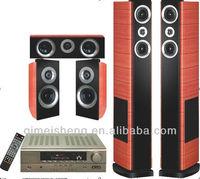 5.1 tower passive home TV theatre speaker