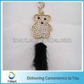 Cristal pingente de urso design para sacos, Clothings, Cintos e toda a decoração