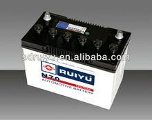 65ah lead acid car dry battery 12v