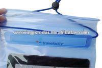 Facroty water resist case for ipad waterproof zipper bag with earphone velcro
