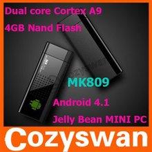 Cozyswan MK809 UG802 Mini PC Dongle TV Turner Dual-core ARM Cortex-A9 Rockchips RK3066