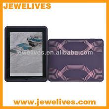 Geometric printed purple for ipad silicone cases