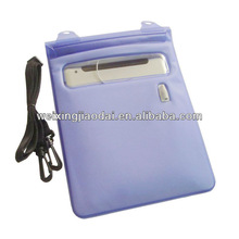 For iPad and Tablet Laptop TPU Waterproof Bag Case Pack with spong to protect shocking