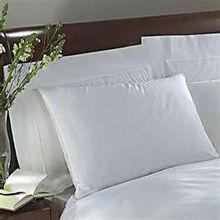 2013 Hotel snow white color cotton bulk pillow cases