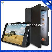ultra-slim cloth PU leather case for mini ipad,lightweight,smooth