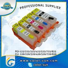 refillable ink cartridge for Canon PGI-225/CLI-226 PIXMA iP4280/PIXMA MG5220 PIXMA MG5120 IP4820 MG8120 MG6120 with ARC chip