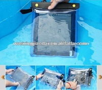 Factory plastic waterproof bag for ipad 3 touch swimming water protect case for valuables