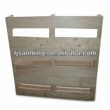 Wooden Pallet for Logistics of Fruit , Food , Chemicals and Electronics Industry