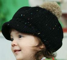 kids children knit hat