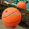 unique pet products wholesale--6.5CM basketball dog chew toy