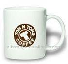 11 oz white ceramic coffee mugs printable For Company Logo
