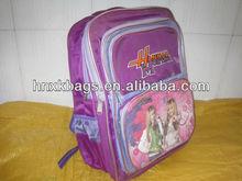beautiful purple school bag kids bags 2013
