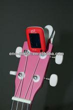 Eno newest design colorful universal mini clip on guitar tuner