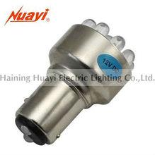 Automobile car bulb lamp 1157 - 12LED, LED tail lamp, flasher light lamp