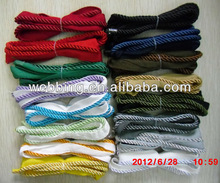 white twist piping cord