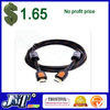 F03098 1.5M / 5FT M/M High Speed HDMI Ver. 1.4 1080P 10.2Gbps Dual Ferrite HDMI Cable Code For PC TV LCD HDTV DVD PS3