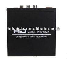 AV+HDMI TO HDMI converter