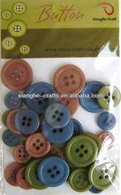 scrapbook antique plastic buttons assortment for craft
