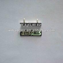 metal aluminum logo badge